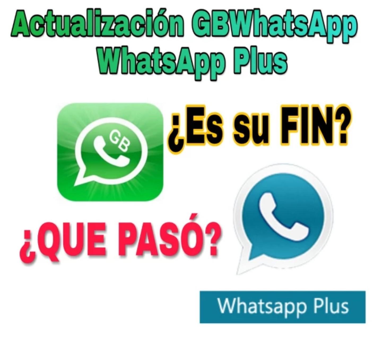 Actualización de whatsapp gb, actualización de whataspp plus